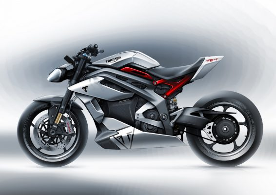 Project Triumph TE 1 Prototype Motorcycle Design 02