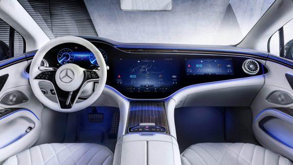 2022 Mercedes Benz EQS 38