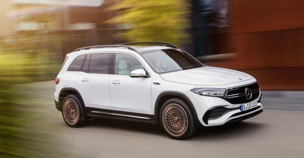 2022 Mercedes EQB 12