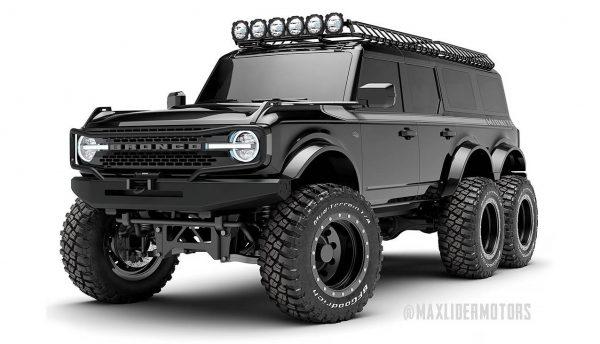 Ford Bronco 6x6 1