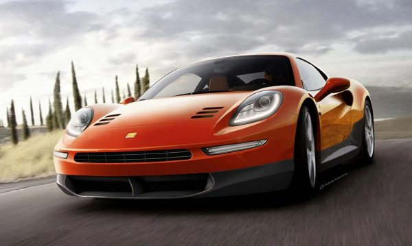 Ferrari Dino Rendering 1