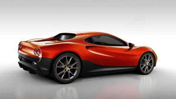 Ferrari Dino Rendering 2