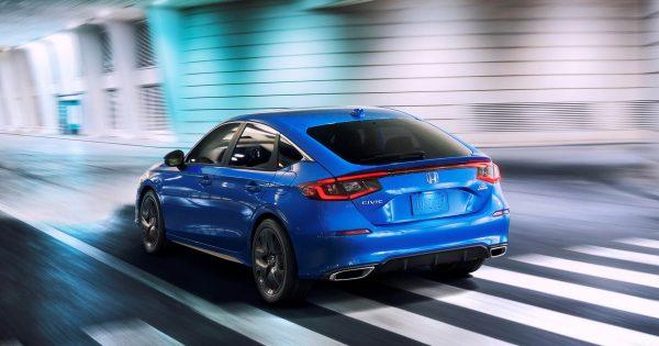 new Honda Civic Hatchback 2022 12