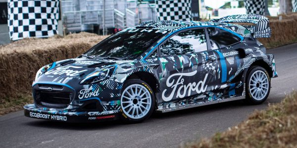 Ford Puma Rally1 WRC Prototype 14