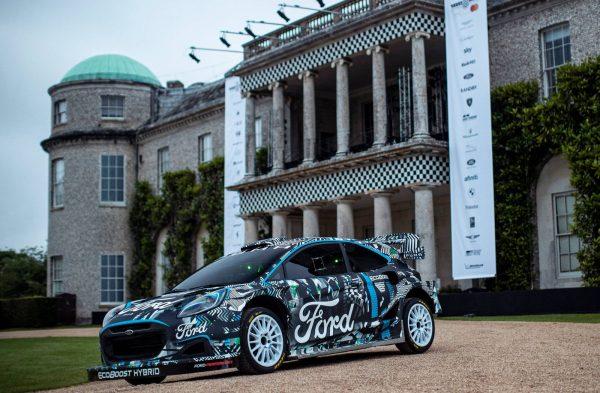 Ford Puma Rally1 WRC Prototype 2