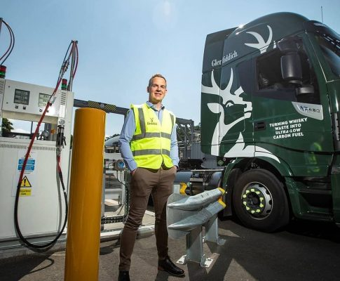 Glenfiddich Using Whisky Waste Delivery Trucks 1