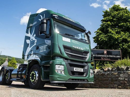 Glenfiddich Using Whisky Waste Delivery Trucks 2